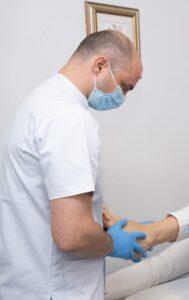 durere glezna operatie glezna