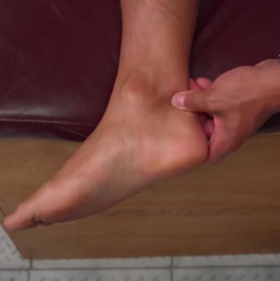 masaj tendon ahile